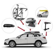 Усі продукти Yakima: кріплення та комплектуючі для перевезення спорядження на автомобілі